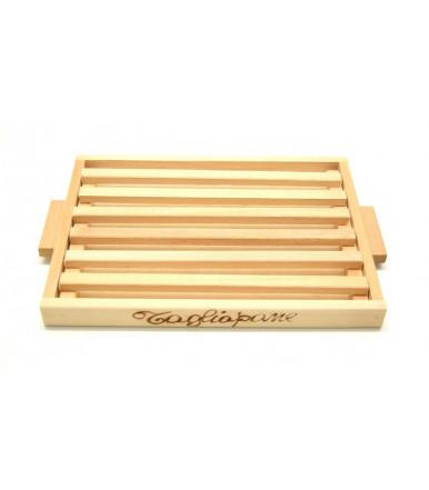 Tagliapane in legno di faggio artigianato abruzzese