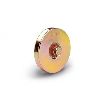 Rolling Center V1 normal wheels c45 with one bearing - V groove