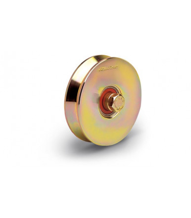 Rolling Center V2 normal wheel c45 with two bearings - V groove
