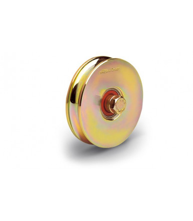 Rolling Center O2 normal wheel c45 with two bearings - O groove