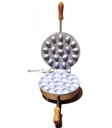 Electric round wafer cooker
