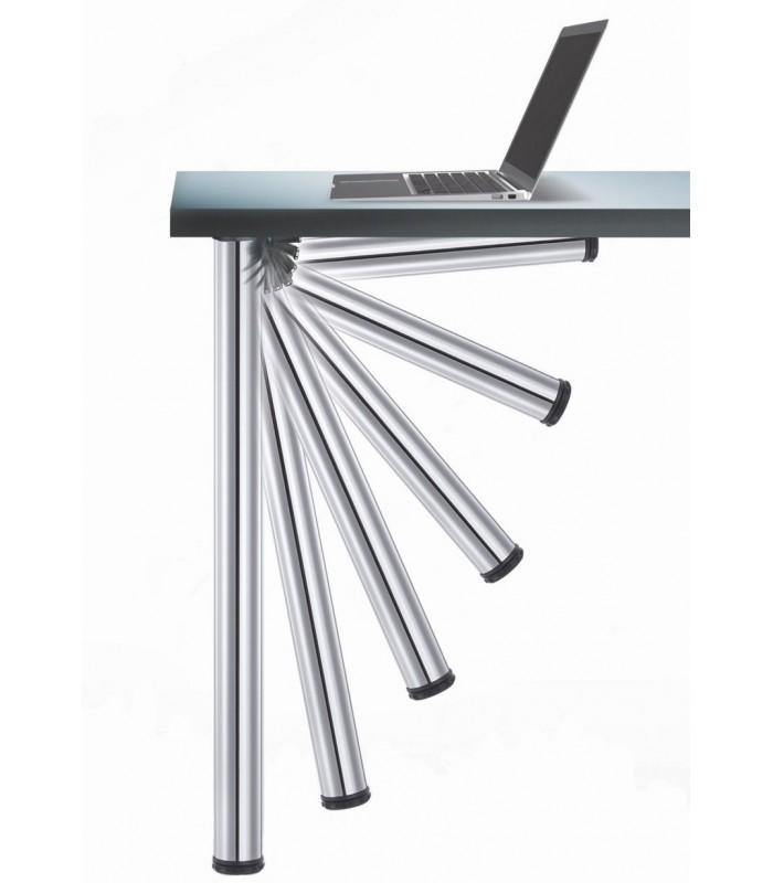 Confezione 4 gambe pieghevole per tavolo 656 click camar - Piedi per tavolo ...