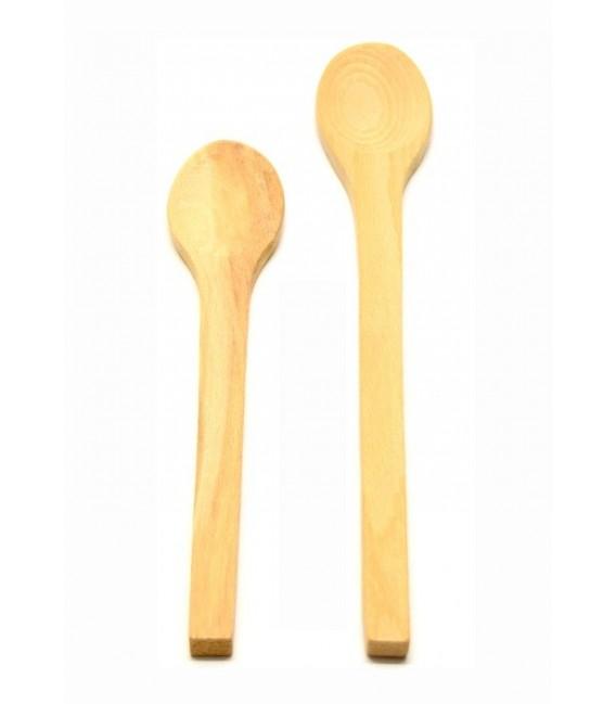 Cucchiaio da cucina in legno di faggio artigianato abruzzese