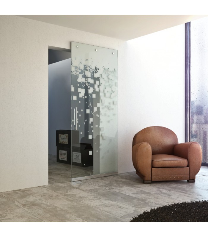 Scorrevole porta a scomparsa magic vetro da 1800 terno - Porta scorrevole a scomparsa ...