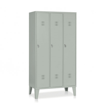 Locker 3 units mm 905x500x1800 E514