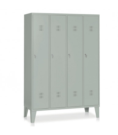 Locker 4 units painted steel E516