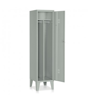 Locker 1 unit with partition painted steel E520
