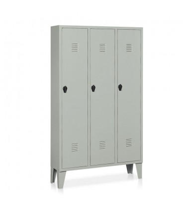 Locker 3 units painted steel E336