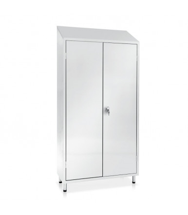 Inox locker 2 units E111