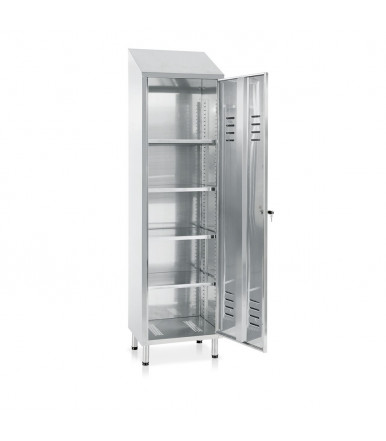 Inox locker 1 door E116