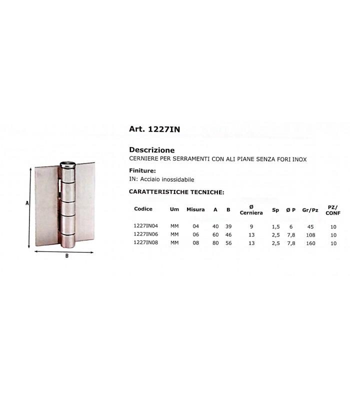Aldeghi 1227in bisagras para puertas y ventanas con alas for Perchas para puertas sin agujeros
