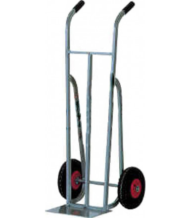 Cart aluminium hand truck pneumatic wheels Ø mm 260 Art.007AL