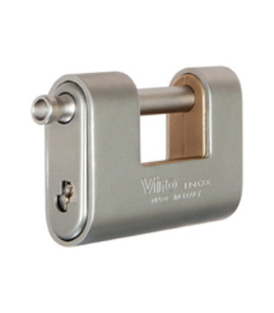 "Viro steinless steel ""Panzer"" armoured padlocks 4117.X"