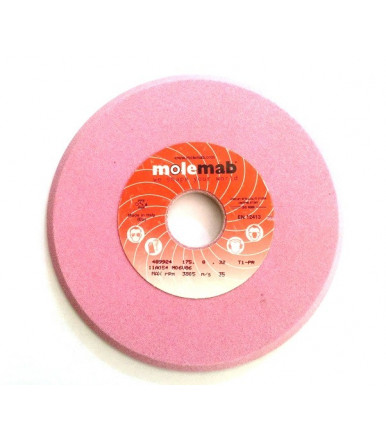 Molemab grinding wheel for sharpening 11A054 M06V86 mm 175x8x32