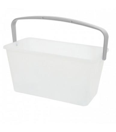 Professional rectangular bucket 13-15 L