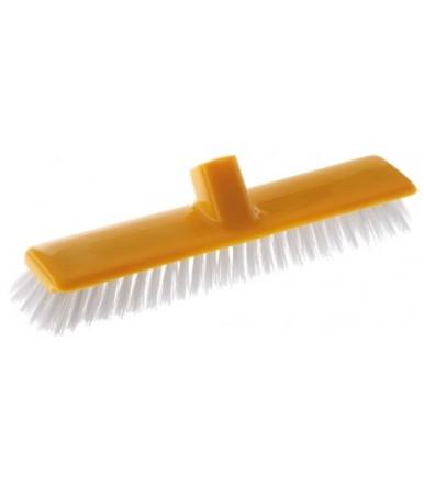 Frettazzo PVC spazzolone in plastica senza manico