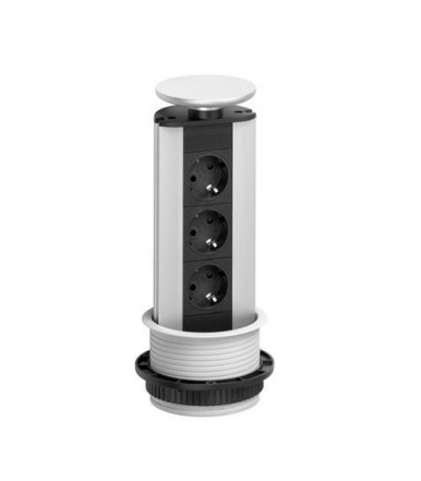 EVOline tower power strip extractable Port CUISINE 3 schuko