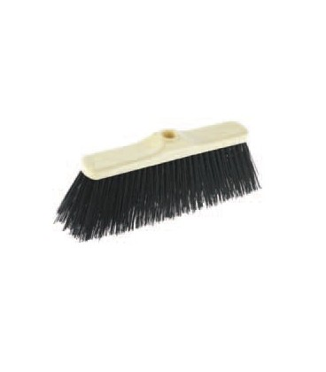 Outdoor broom in pvc without handle