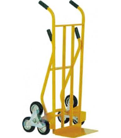Carrello per trasporto su scale doppia impugnatura 6 ruote Ø mm 150 Art.021C