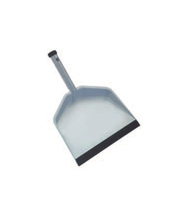 Extra-strong steel scoop with plastic whisker