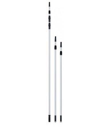 Extendable adjustable aluminum handle