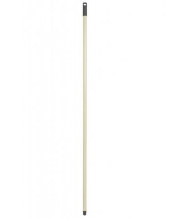 Manico Basic fisso in metallo per scope, mop - Lunghezza 130 cm