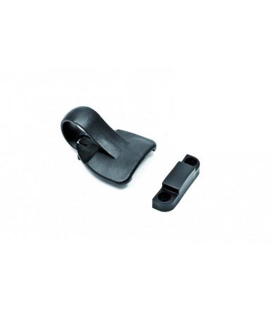CLIC - Cricchetto di chiusura per finestre e persiane ESINplast nero