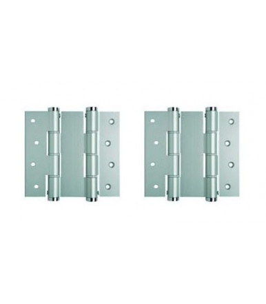Double action hinges pair DA 120 R Justor aluminum