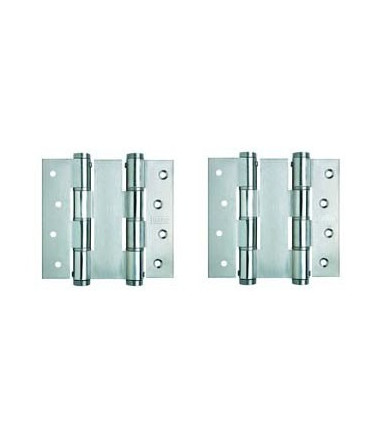 Double action hinges pair DA 120 R Justor stainless steel