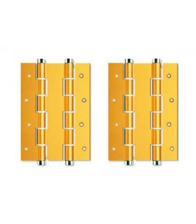 Double action hinges pair DA 180 A Justor aluminum