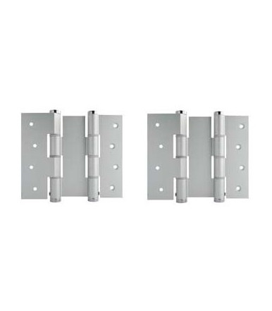Double action hinges pair DA W 120 Justor aluminum