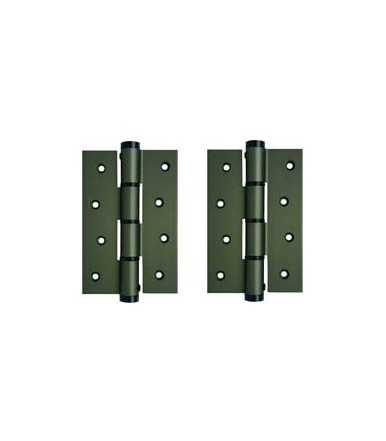 Simple action hinges pair SA 120 R aluminum justor