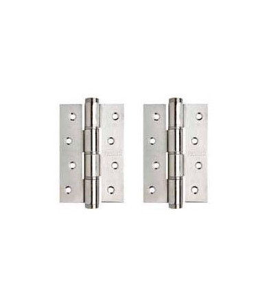 Simple action hinges pair SA 120 R justor stainless steel