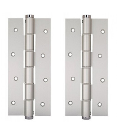 Simple action hinges pair SA 180 aluminum justor