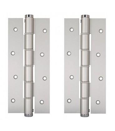 Coppia Cerniere Semplice azione SA 180 Justor in alluminio 5814.01