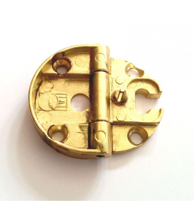 Anselmi hinges no capitals diameter 6 mm for level doors Art.231