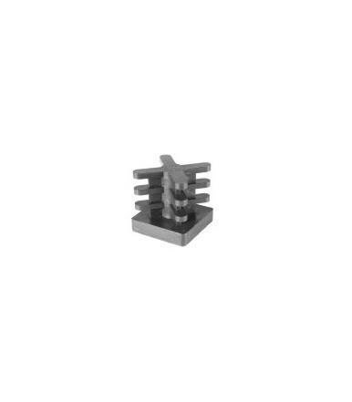 QIA - Puntali quadri Ivars alettati in PE- Alettatura a croce 25x25 in blister da 100 pezzi