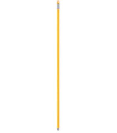 Fester Griff 120 cm aus Metall, klassisches Modell für Moppbesen und Werkzeuge