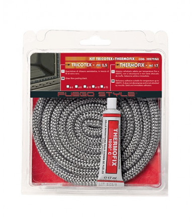 Kit Seal made Tricotex + Adhesive Thermofix for stoves