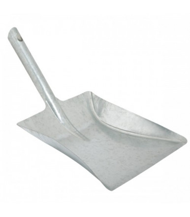 Galvanized metal scoop