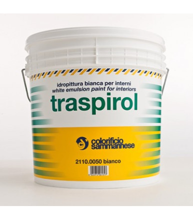 Colorificio Sammarinese Traspirol white Transpiring water-based paint for indoor use