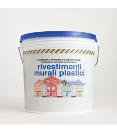 Fiorentino Grana Fine Bianco Rivestimenti al quarzo per esterni Colorificio Sammarinese