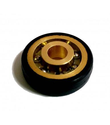 Cuscinetto in acciaio rivestito in nylon sfere inox con foro TRF6 22/0/1 Tric