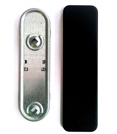 Outer plate without mount command reinforced for fire doors Cisa 07076.11