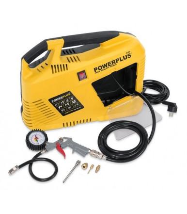 Compressore Powerplus POWX1702 max. 8 bar 1100 W inclusi accessori
