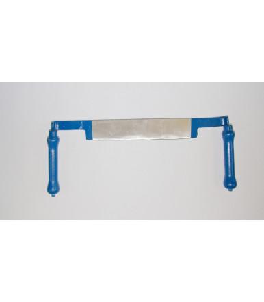 Coltello dritto forma stondata per lavorazione legno Müller Hammerwerk 2086