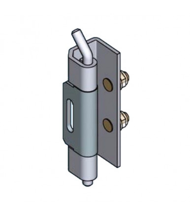 EMKA 1069-U7 galvanized steel hinge
