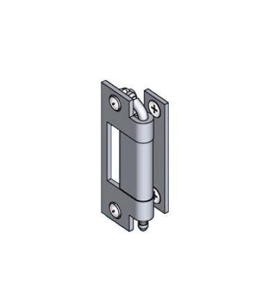 EMKA 1032-U6 galvanized steel hinge