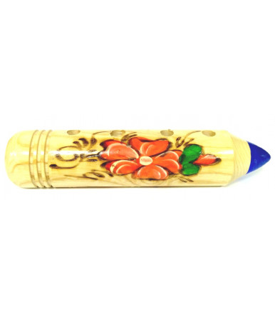 Bing pencil - pens and pencils holder in beechwood Abruzzo handicraft