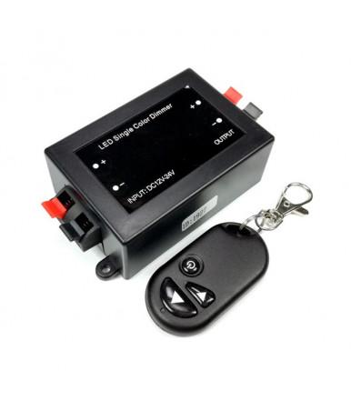 Dimmer per striscia LED con telecomando 8 A 96W Optonica Led